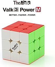 QiYi VALK 3 Power M Valk3 Power M Cubo magico magnetico 3x3x3 Magic Puzzle Cube + un cubo Stand e una borsa cubo ( senza adesivo )