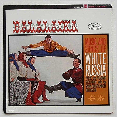 balalaika, music and songs of white russia LP