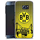 DeinDesign Samsung Galaxy S6 Edge Plus Hülle Case Handyhülle BVB Muster Borussia Dortmund