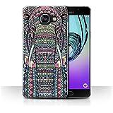 Coque de Stuff4 / Coque pour Samsung Galaxy A5 (2016) / éléphant-Couleur Design / Motif Animaux Aztec Collection