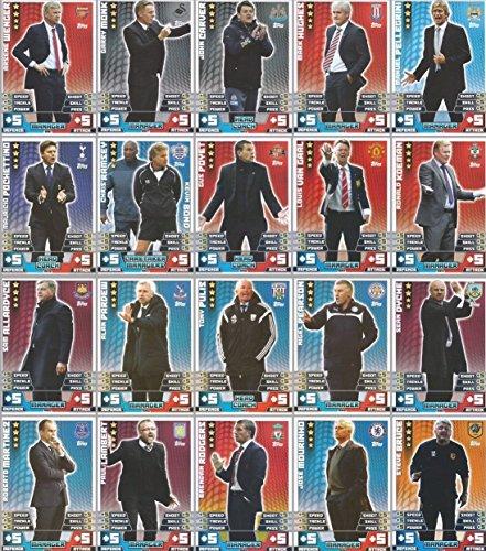 Preisvergleich Produktbild Match Attax Extra 14/20 20 (DE) 15 Vollständiges Set mit 20 Karten Manager