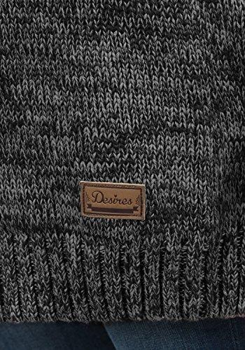DESIRES Phibie - Cardigan da Donna Black (9000)