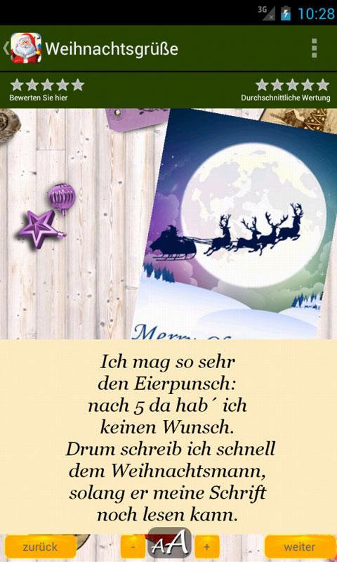 Weihnachtsgrüße - Grüße & Zitate für Weihnachten: Amazon.de: Apps ...
