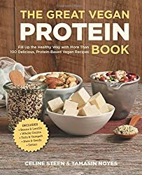 The Great Vegan Protein Book: Fill Up the Healthy Way with More than 100 Delicious Protein-Based Vegan Recipes Includes • Beans & Lentils • Plants • Tofu & Tempeh • Nuts • Quinoa (Great Vegan Book)