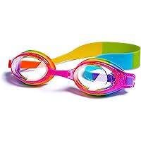Kids Swimming Goggles, Junior Children Kids Boys Girls Swimming Goggles Waterproof Anti Fog No Leaking UV Protection…