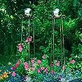 Gärtner Pötschke Lichtkugel-Obelisken, 2er-Set von Gärtner Pötschke - Du und dein Garten
