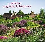 Geliebte englische Gärten 2018 - DUMONT Garten-Kalender - mit allen wichtigen Feiertagen - Format 38,0 x 35,5 cm -