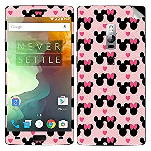 Theskinmantra Pink Hearts OnePlus Two mobile skin
