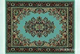 Blue Woven Rug Mouse Pad - Persian Style...