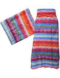 5994539bddc2 PAREO 100x180cm fantasia strisce multicolore 100% cotone Moda accessori  abbigliamento donna mare