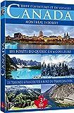 Canada (3 dvd) Montréal Insolite - Le Transcanadien - Les Forêts du Québec en 4 Couleurs.