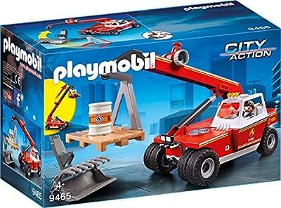 PLAYMOBIL 9465 Spielzeug - Feuerwehr-Teleskoplader
