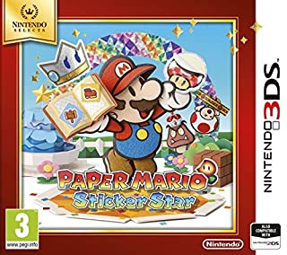 Paper Mario: Sticker Star (Nintendo Selects) (B01FWF6TKC) | Amazon Products