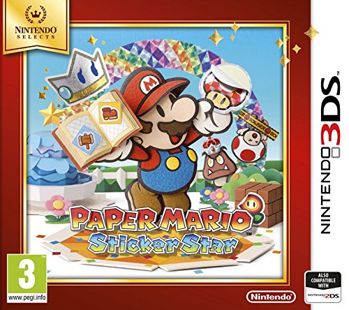 Paper Mario: Sticker Star Nintendo Selects
