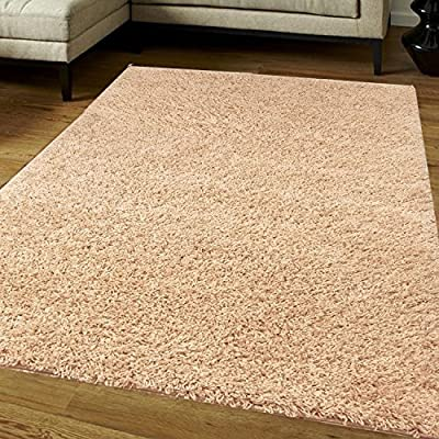 Think-Louder Luxury Shaggy Rug Runner Non Shed Carpet Non Shed Thick & Soft in With Non Slip Gripper Underlay - low-cost UK light store.