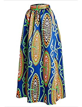 Afibi Mujer Africano Impreso Cas