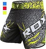 RDX MMA UFC Pantalones Boxeo Corto Entrenamiento Muay Thai Shorts Running...