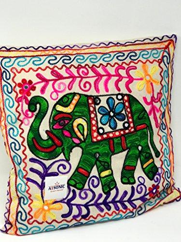 A1Sonic - Funda de cojín para elefante de menos suerte, diseño de animales festivos, regalo de San Valentín