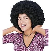 Rubie's - Peluca super afro, color negro (50804)