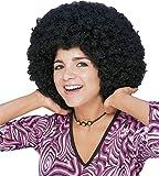 Rubies - Peluca super afro, color negro (50804)