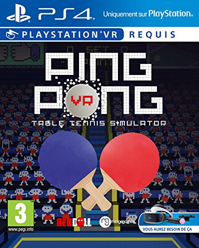 VR Ping Pong: Table Tennis Simulator [Importación francesa]