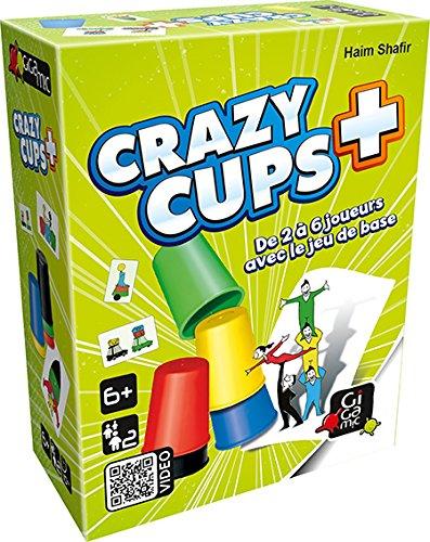 Gigamic - AMHCP - Jeu de réflexe - Crazy Cups Plus
