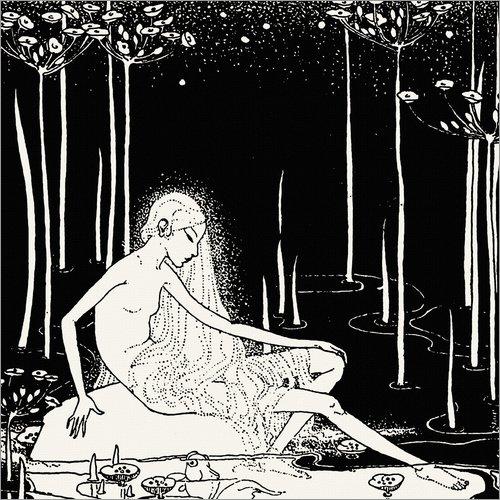 Song Salbei (Forex-Platte 30 x 30 cm: The Midden's Song von Dorothy Lathrop)