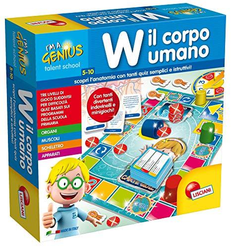 Lisciani Giochi 48915 Piccolo Genio Talent School  W Il Corpo Umano