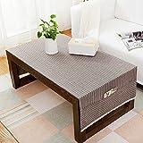 Im amerikanischen Stil Tisch Tischdecken Wohnzimmer modern und einfach pure Color TV-schrank Schreibtisch Tischdecke aus Baumwolle Leinen Coffee Table mat Tabelle mat-E 70 x 180 cm (28 x 71 Zoll)