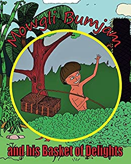 #freebooks – FREE Mowgli Bumjam and His Basket of Delights kids picture book on Amazon for ages 2-7. Indian kid on a mission meets bandits, rides a train, meets tiger. Now until Monday 27th August.