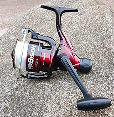 New Rn600 Fishing Reel For Spinning Float Feeder Carp Sea & Pike Fishing Rods by Bison