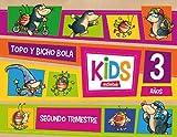 KIDS EDEBE 3 AÑOS SEGUNDO TRIMESTRE - 9788468309750