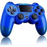 ELYCO Wireless Controller per PS4, Joystick Bluetooth Controller Pannello Touch con Doppia Vibrazione Shock, Turbo e Presa Au