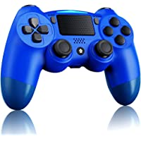 ELYCO Wireless Controller für P-S-4, Bluetooth Gamepad Dual Vibration Shock Controller Joystick Touchpanel-Gamepad with…