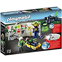 Playmobil 5086 Top Agents - Laboratory with Jet