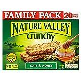 Nature Valley Crunchy Granola Bars Oats & Honey Family Pack 10 x 42g