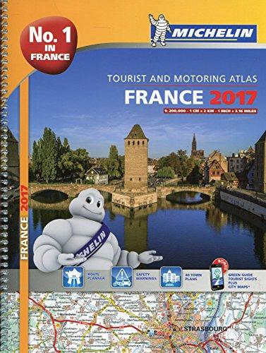 France Atlas 2017 (Michelin Atlas) por Michelin