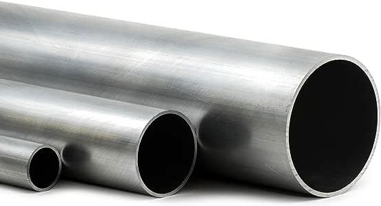 L/änge 250mm Edelstahl Rundrohr V2A /Ø 35x2mm K240 25cm auf Zuschnitt