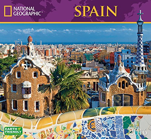 espagne-2016national-geographic-calendrier-mural