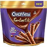 Candyman Fantastik Mini Treats, Choco Wafer Rolls 200g