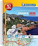Atlas France 2016 Spirales Michelin