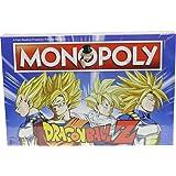 Monopoly Dragon Ball Z - Bordspel - Speciale Monopoly uitgave in de stijl van Dragon Ball Z - Voor de hele familie - Taal: En