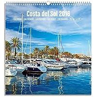 Grupo Erik editores Costa Del Sol-Calendar Medium 2016, 23x 24cm