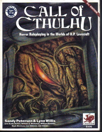 Call of Cthulhu: Horror Roleplaying in the Worlds of H.P.Lovecraft by C.Sandy Petersen (1-Jan-1995) Paperback