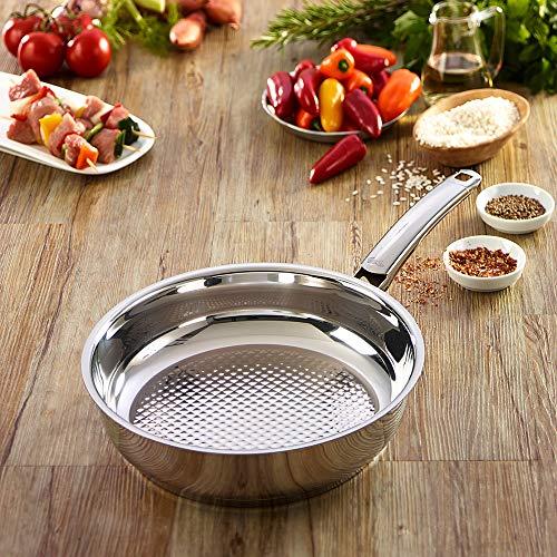 Fissler 12140028100 Crispy steelux Premium - Sartén (28 cm)
