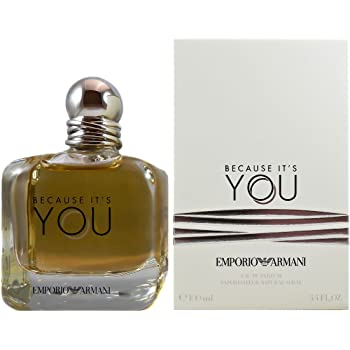 9edeee5859 Armani Emporio Because It's You Women EDP, 100 ml: Amazon.co.uk: Beauty