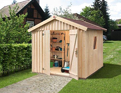 Weka Gartenhaus Schwedenhaus Größe 3 natur