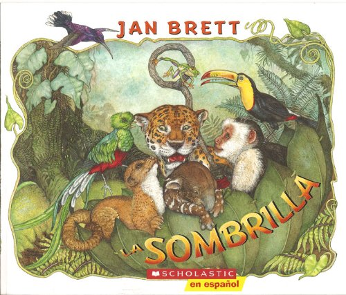 La Sombrilla/The Umbrella por Jan Brett