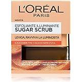 L'Oréal Paris Detergenza Sugar Scrub Esfoliante Illuminante Viso & Labbra con Cristalli Fini di Zucchero + Olio di Semi…