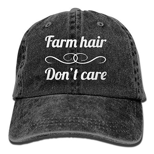 �tze-Bauernhof-Haar interessiert Sich Nicht Frauen-Hysteresenkappen-Polo-Art Low Profile ()